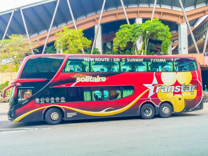 Bus KL to Singapore
