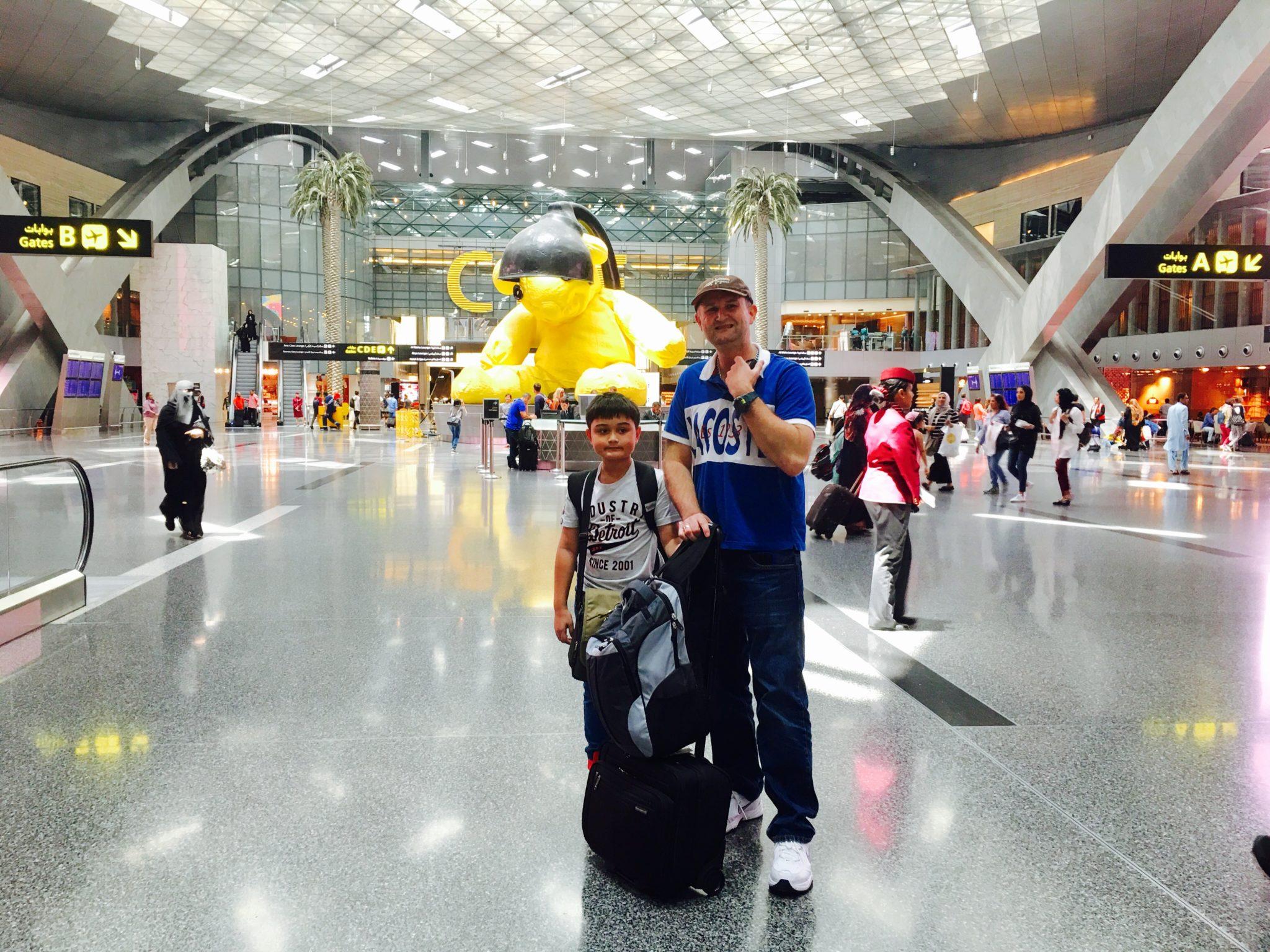 Bangkok to doha