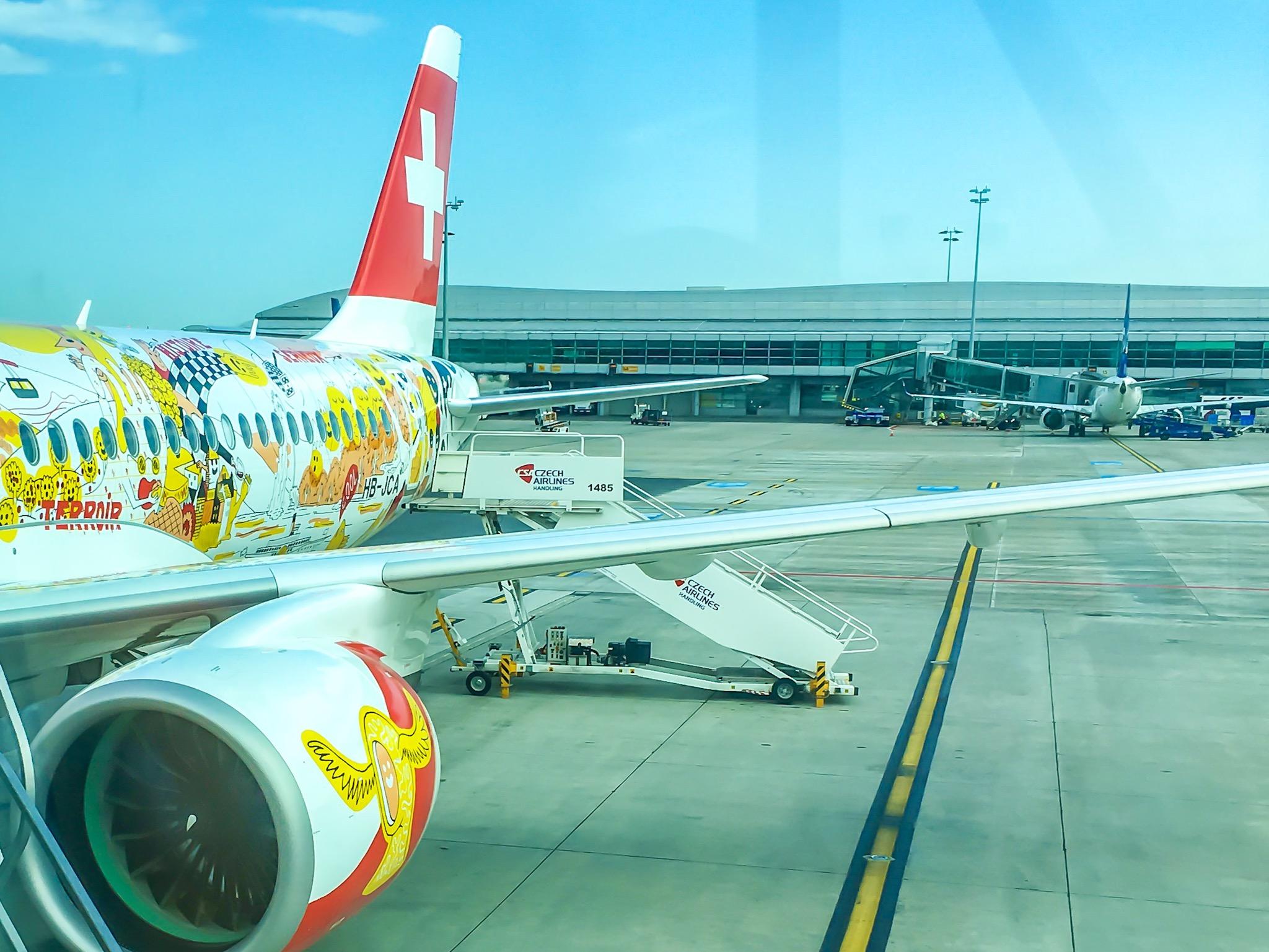 Prague to Geneva