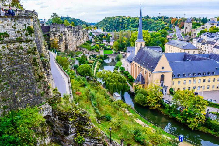 Luxembourg city promenade walking tour nicerightnow luxembourg city promenade walking tour altavistaventures Choice Image
