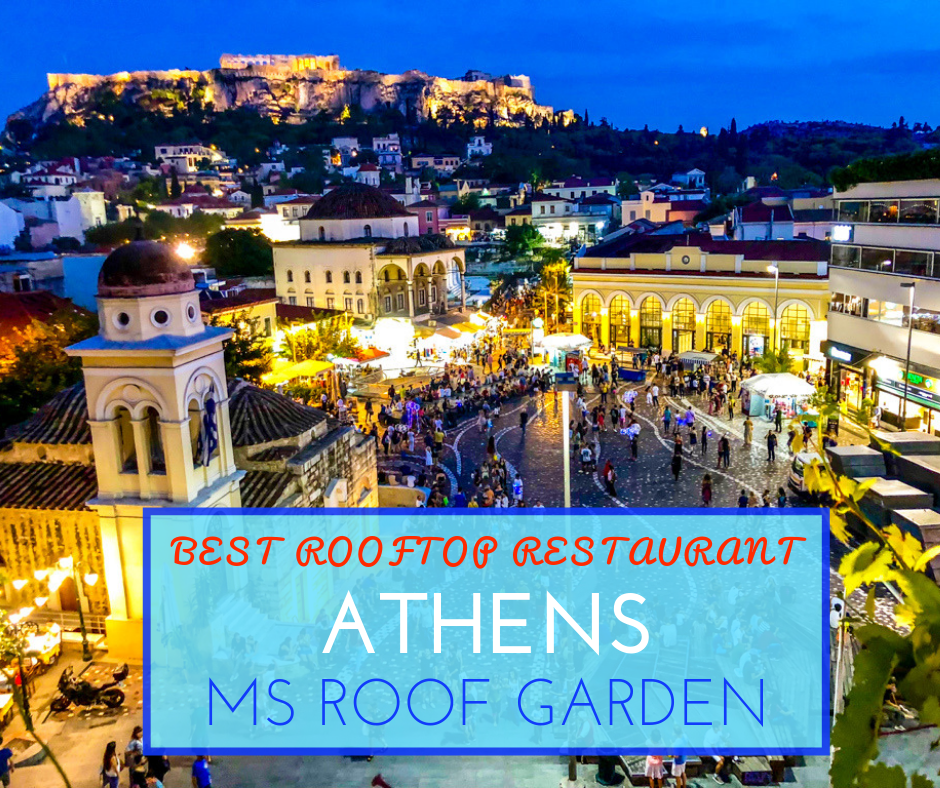 Roof Garden Athens Best Rooftop Restaurant In Athens